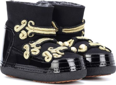 INUIKII Embellished leather ankle boots