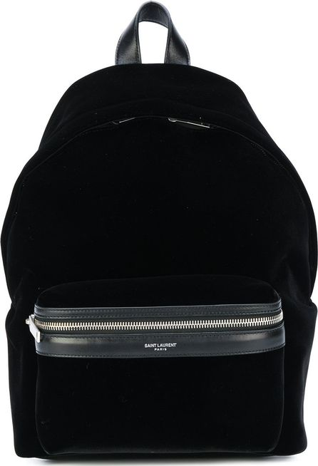 Saint Laurent logo backpack