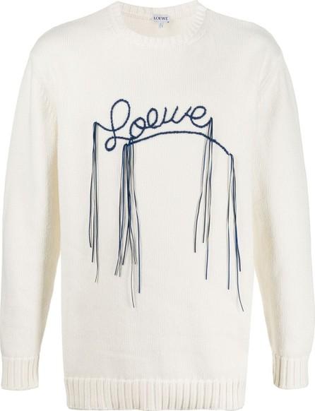 LOEWE Stitched logo jumper