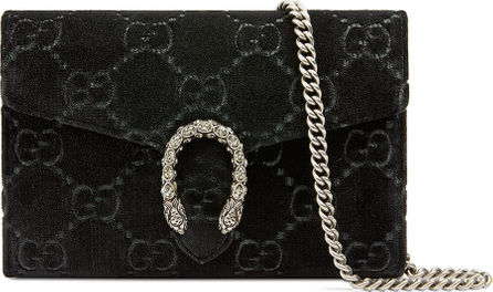 Gucci Dionysus Velvet GG Supreme Wallet On Chain