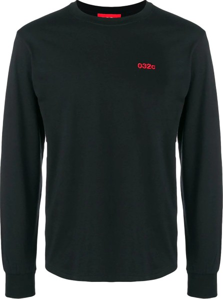 032c embroidered logo long sleeve t-shirt