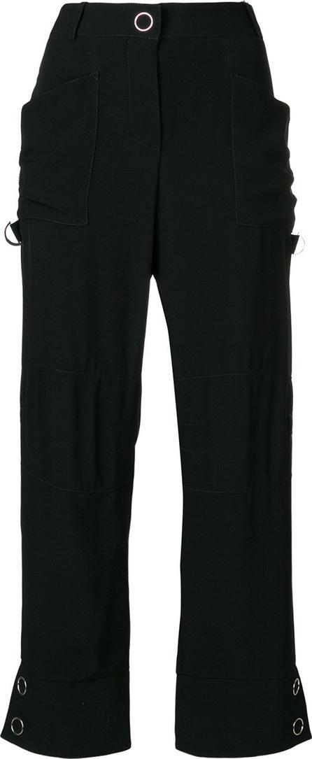 Giorgio Armani Side stripe detail trousers