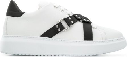 Moschino Buckle low-top sneakers