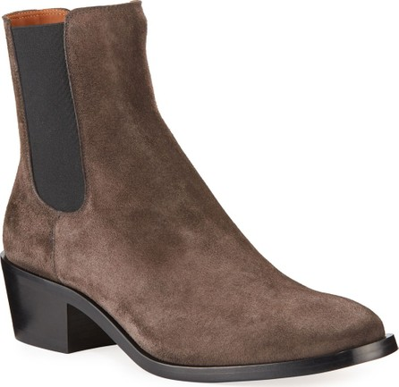 Givenchy Men's Bowery Suede Chelsea Boots