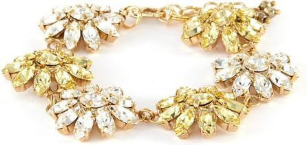 Rosantica Utopia' bi colour crystal embellished bracelet