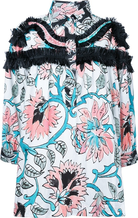 Antonio Marras ruffled detail floral blouse