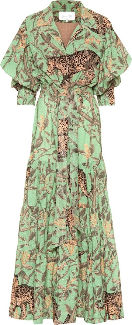 Johanna Ortiz Majestic Safari silk dress