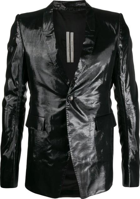 Rick Owens Metallic tailored blazer