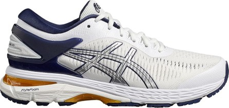 Asics White, purple and cream X naked kayano 25 sneakers