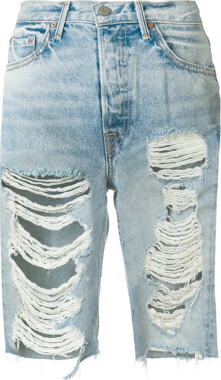 Grlfrnd Distressed denim shorts