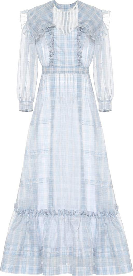 Calvin Klein 205W39NYC Checked silk dress