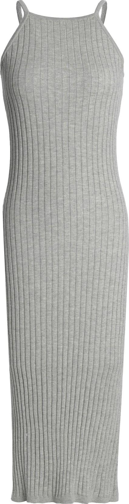 Autumn Cashmere Ribbed cotton midi dress