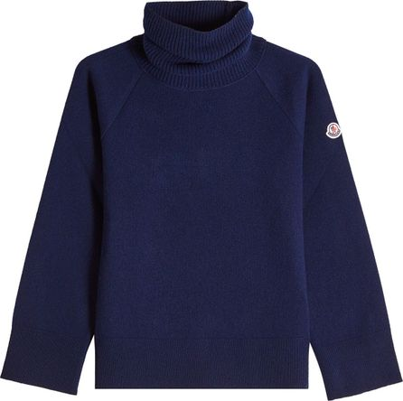 Moncler Virgin Wool Turtleneck Pullover