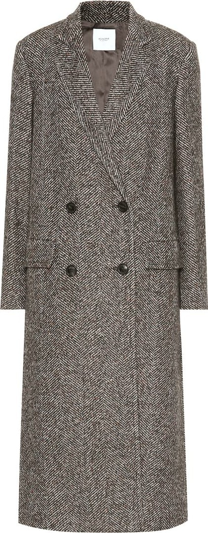 Agnona Wool and alpaca-blend coat