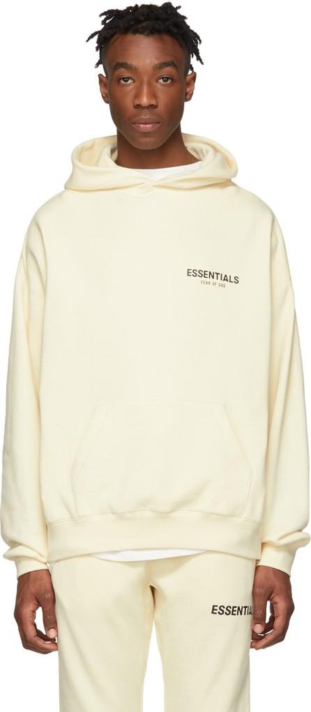 Essentials Off-White Pullover Hoodie