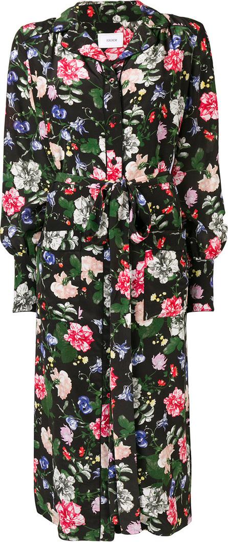 Erdem Quenna floral shirt dress