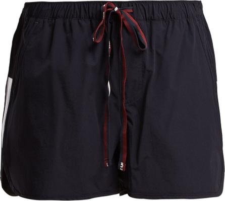 The Upside Trainer logo-print performance shorts