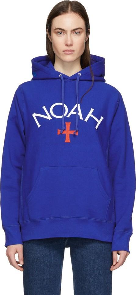 Noah NYC Blue Logo Hoodie