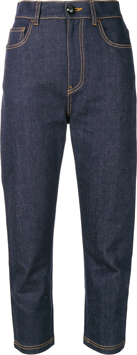 Fendi Straight cropped jeans