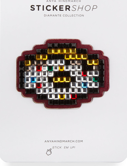 Anya Hindmarch Doughnut Crystal Sticker for Handbag, Multi