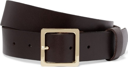 FRAME DENIM Classic leather waist belt
