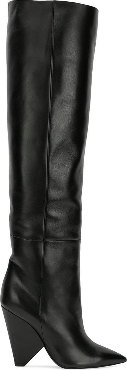 Saint Laurent Niki wedge boots