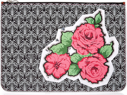 Liberty London RQ Rose Canvas Pouch Bag