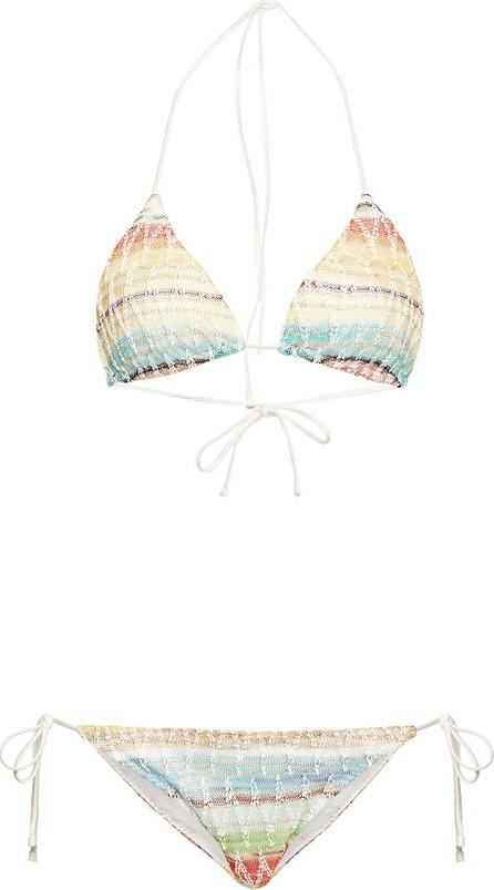 Missoni Knit Triangle Bikini