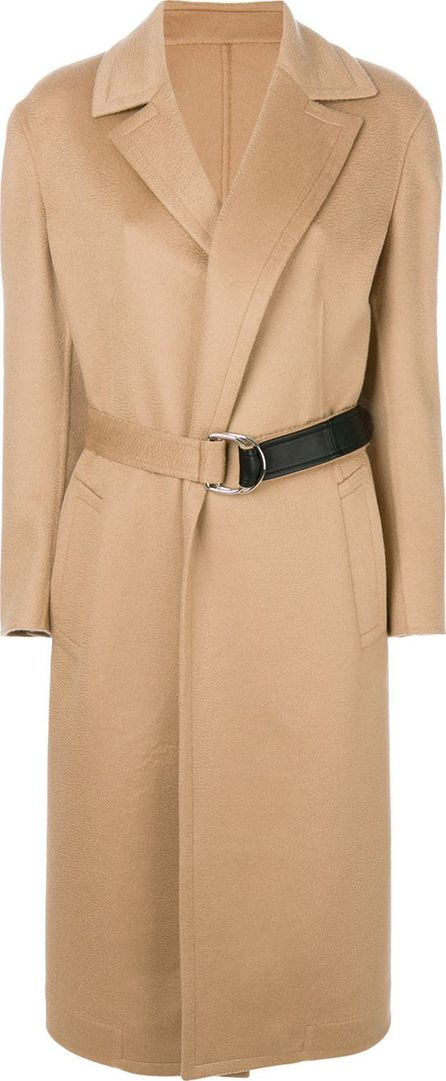 Calvin Klein 205W39NYC belted wrap coat