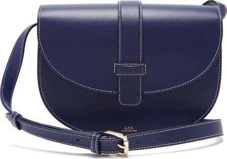 A.P.C. Eloise leather saddle bag
