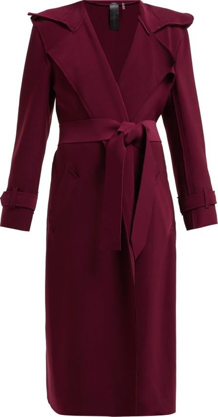 Norma Kamali Tie-waist trench coat