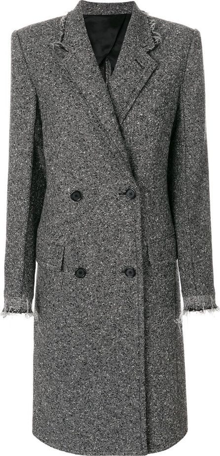 Helmut Lang straight-fit button up coat