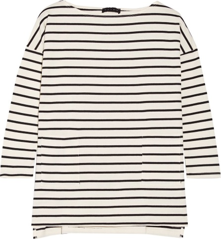 HATCH The Bateau striped cotton top