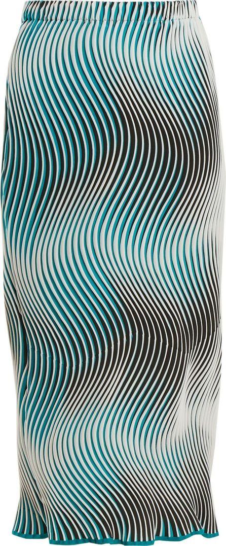 Issey Miyake Flow Cosmic wave-pleated skirt