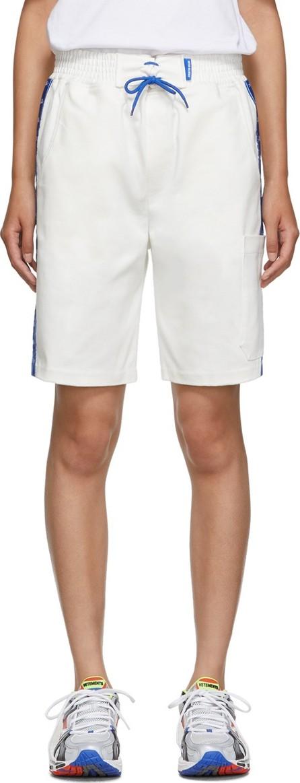 Anton Belinskiy SSENSE Exclusive White Twill Shorts