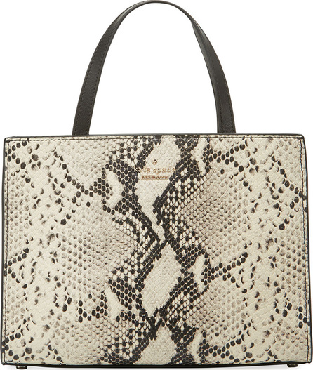 Kate Spade New York emerson sam snake-embossed shoulder bag