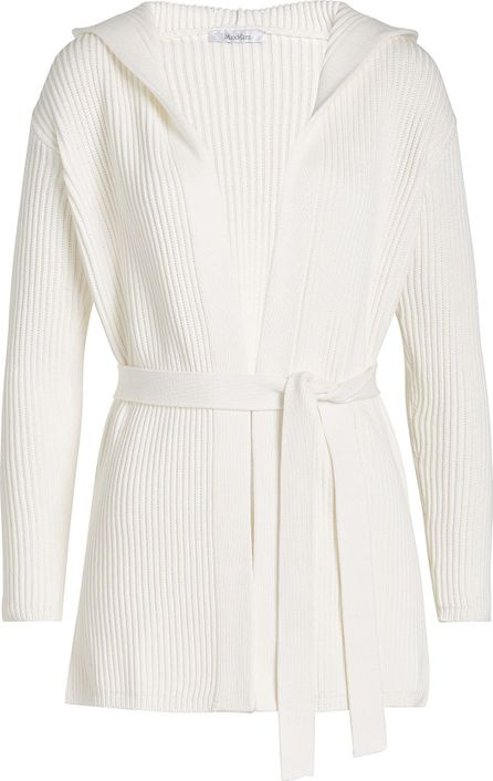 Max Mara Belted Cardigan with Cotton