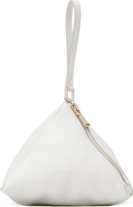 Jil Sander Triangle clutch bag