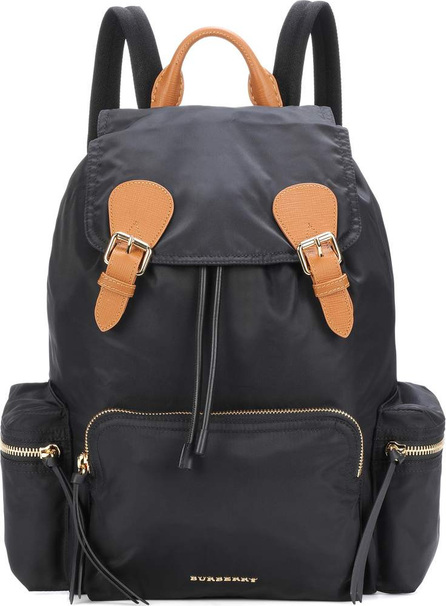 Burberry London England The Large leather-trimmed backpack