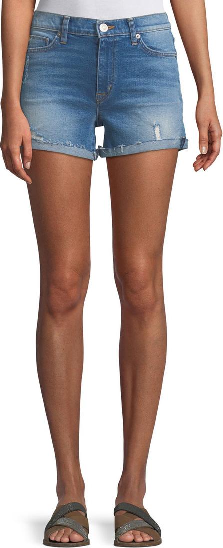 Hudson Valeri Cuffed Denim Shorts