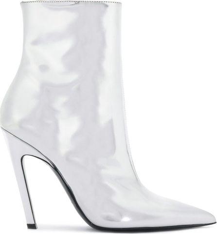 Balenciaga Slash Mirror Metallic Booties