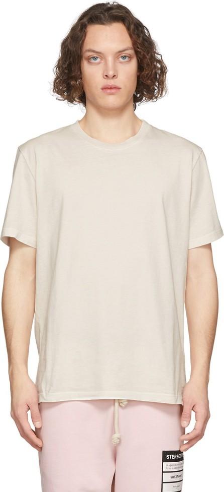 Maison Margiela Three-Pack Purple & Off-White Stereotype T-Shirt