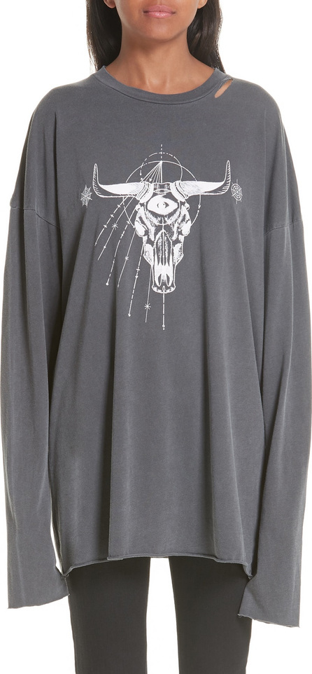 Alchemist Tombstone Distressed Long Sleeve Tee