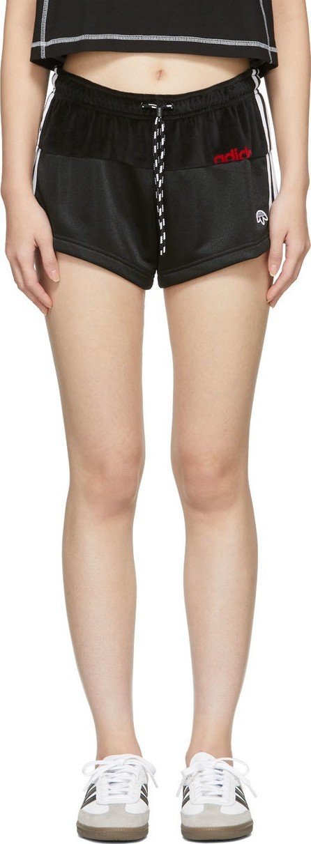 Adidas Originals by Alexander Wang Black Disjoin Jersey Shorts