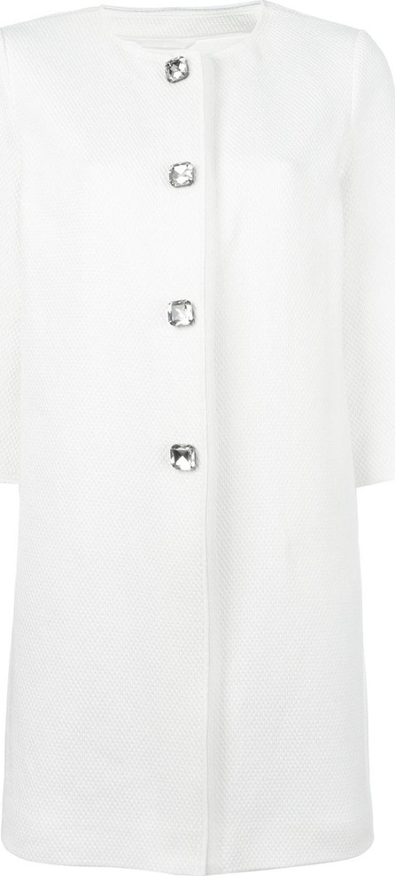 Ermanno Scervino three-quarters sleeve coat