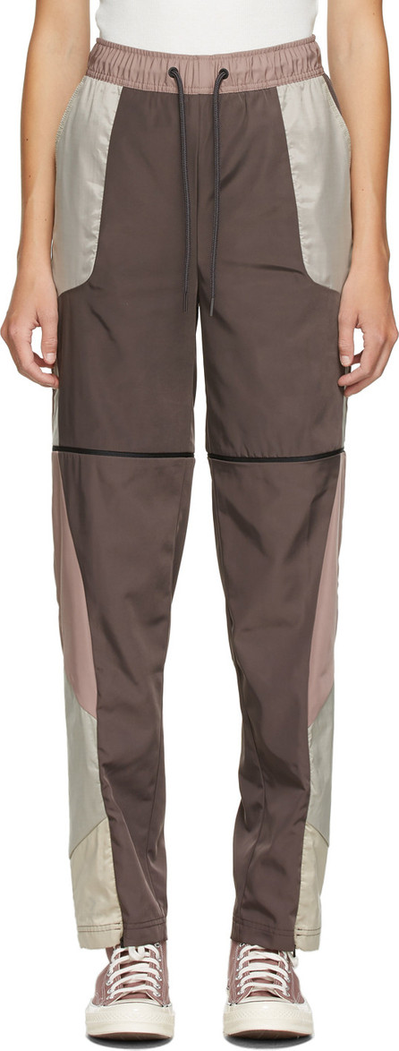 A-Cold-Wall* Purple & Beige Converse Edition Panelled Track Pants