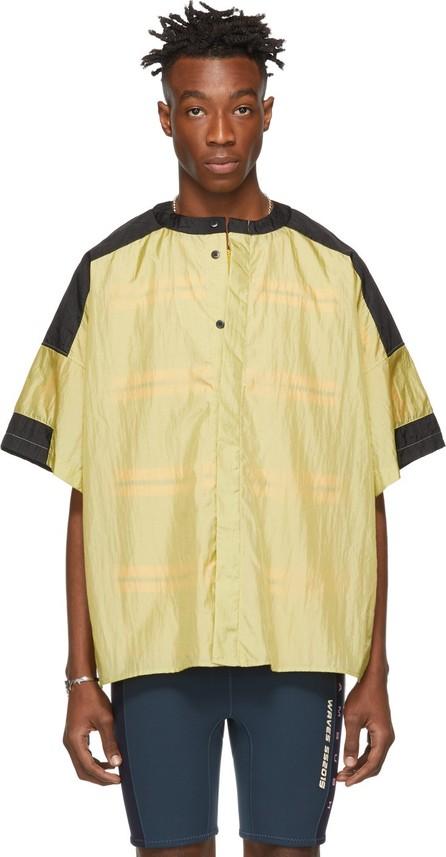 Ambush Yellow Side Slit T-Shirt
