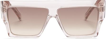 Celine Squared aviator-frame acetate sunglasses