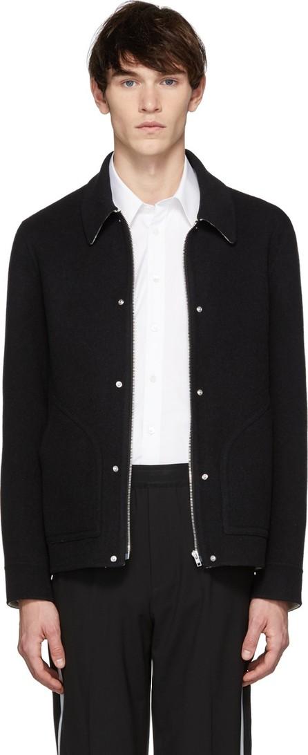 Helmut Lang Black Logo Zip Jacket