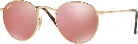 Ray Ban Icons Round Flash Sunglasses